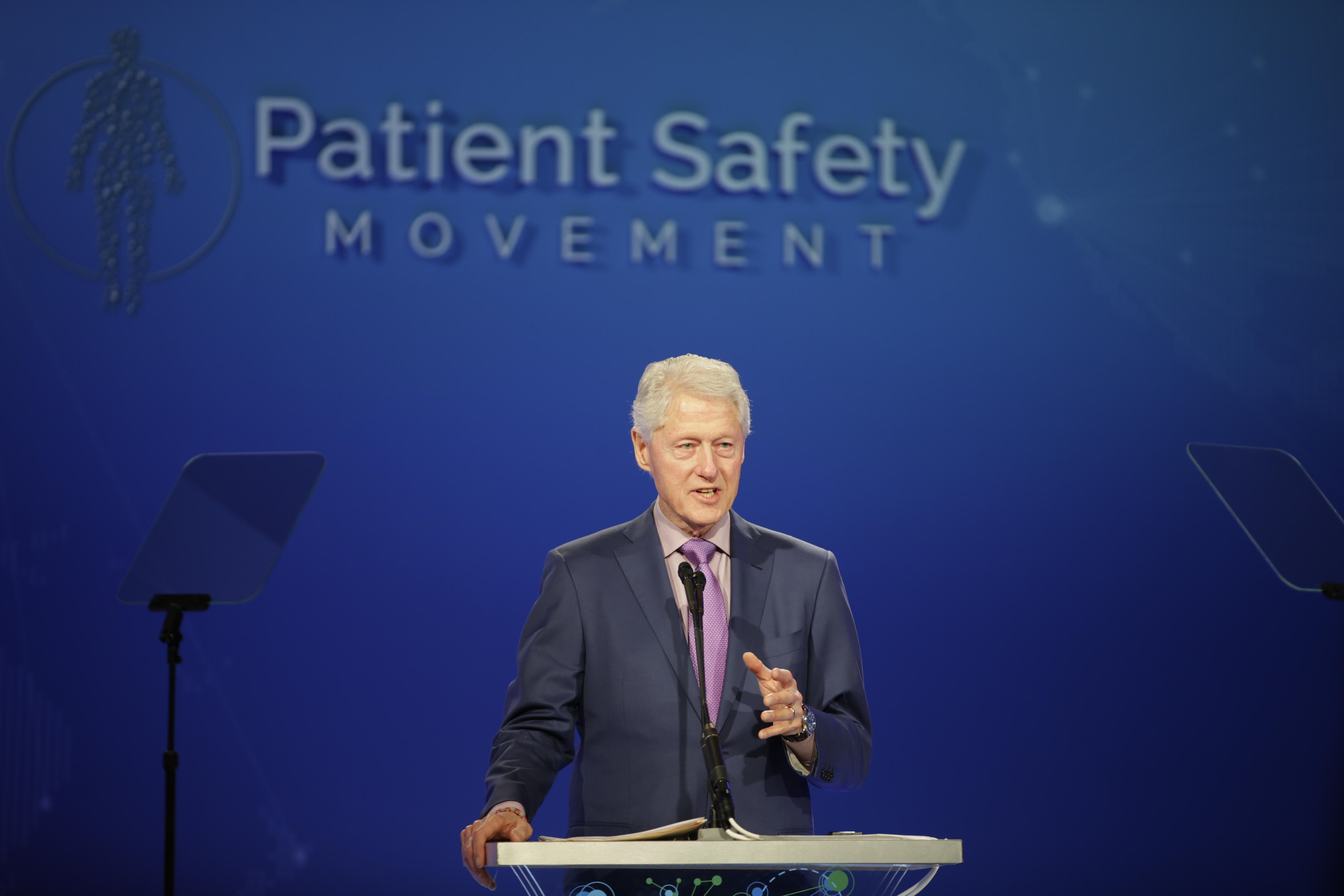 Sunday Special   Bill Clinton at the World Patient Safety, Science & Technology Summit.