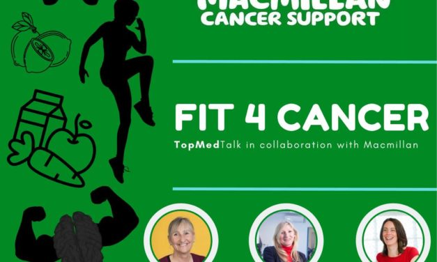TopMedTalk & MacMillan Cancer Support | Get active and feel good?
