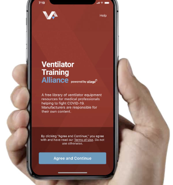 COVID 19 | The Ventilator Training Alliance App