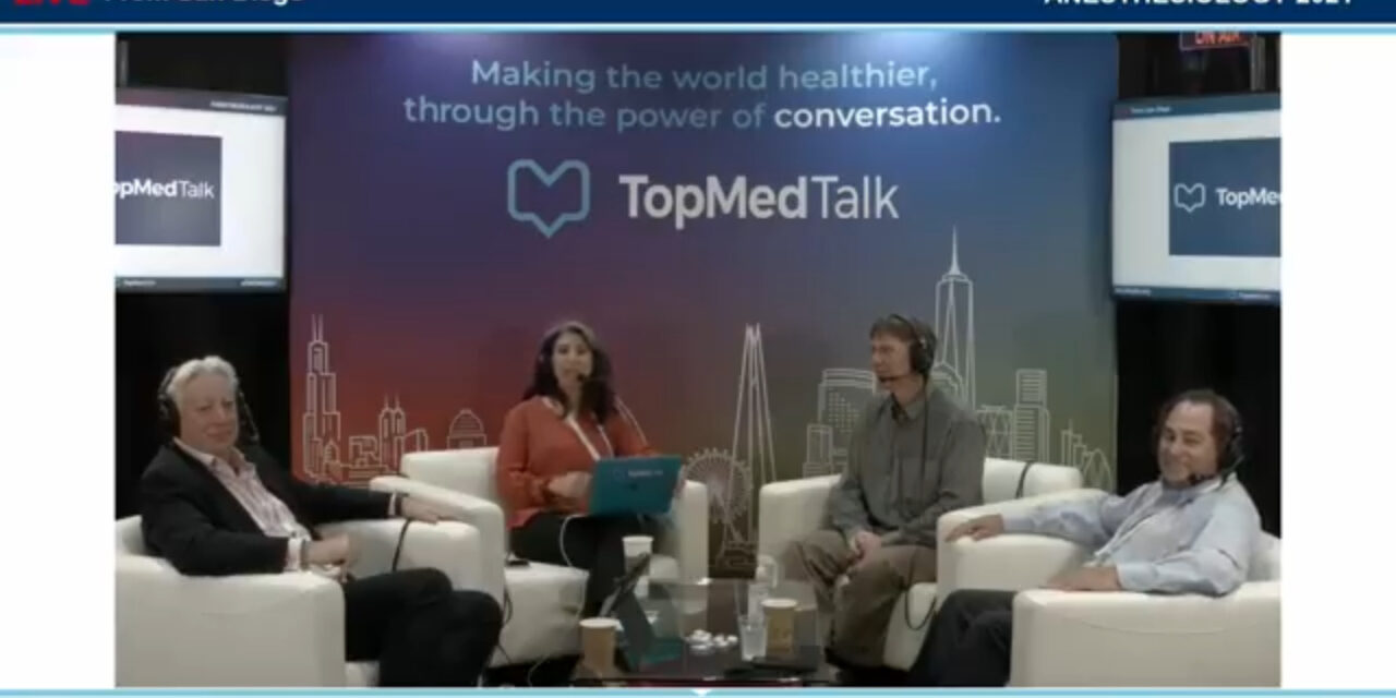 Rick Dutton Chief Quality Officer US Anesthesia Partners | TopMedTalk at the ASA