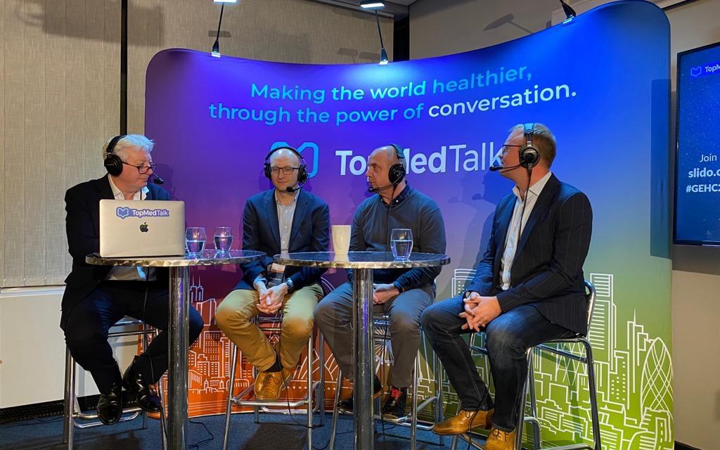 TopMedTalk | Gezz Van Zwanenberg, Matt Wiles and Marcus Peck.