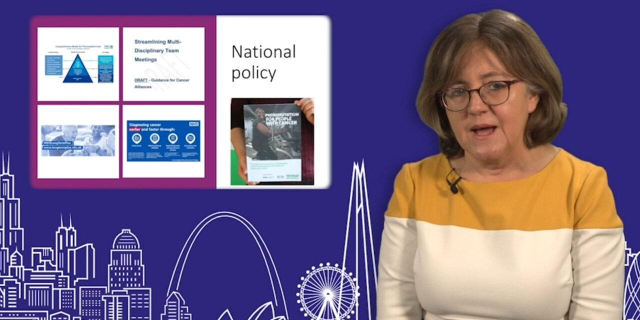 EBPOM London 2020 | Guidance on prehabilitation for cancer